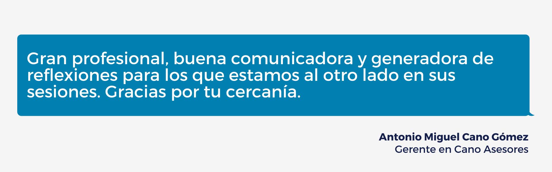 Reseña Antonio Cano